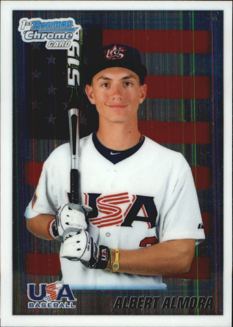 2010 Bowman Chrome Draft Prospects #BDPP57 Albert Almora