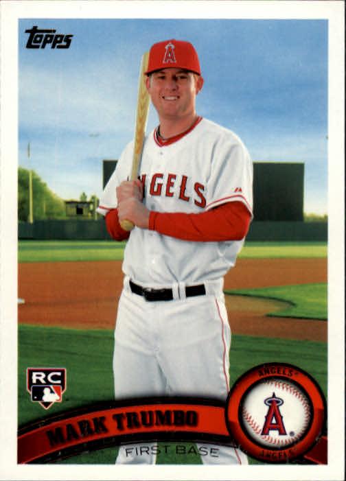 2011 Topps #57 Mark Trumbo (RC)