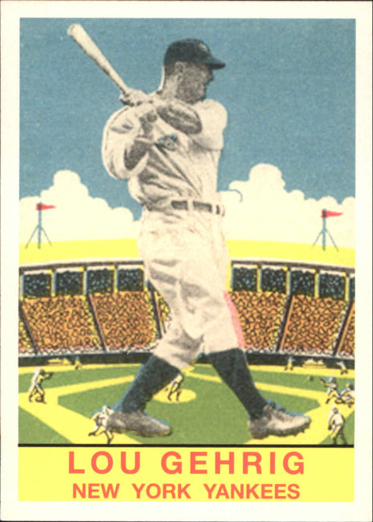 2011 Topps CMG Reprints #CMGR21 Lou Gehrig