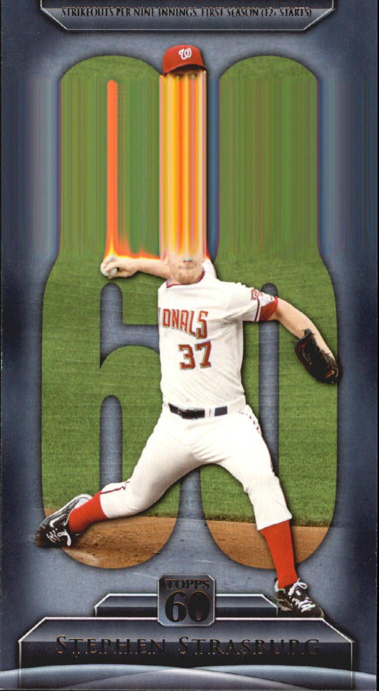 2011 Topps 60 #37 Stephen Strasburg