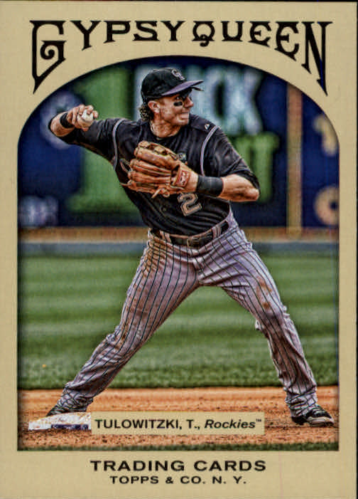 2011 Topps Gypsy Queen #8 Troy Tulowitzki