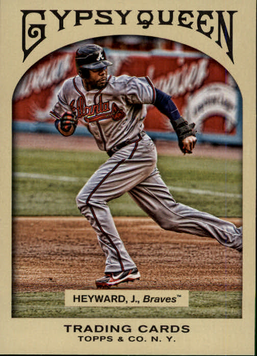 2011 Topps Gypsy Queen #10 Jason Heyward