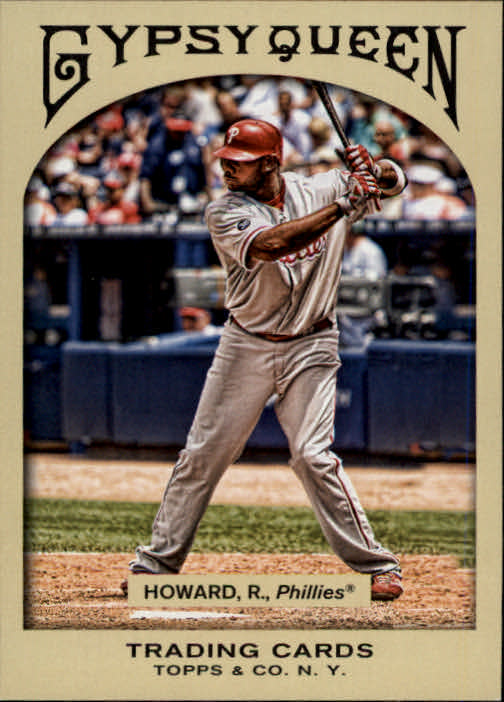 2011 Topps Gypsy Queen #12 Ryan Howard