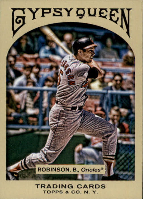 2011 Topps Gypsy Queen #14 Brooks Robinson