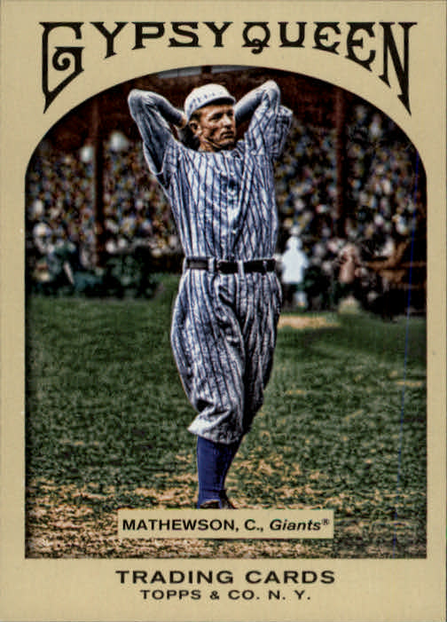 2011 Topps Gypsy Queen #18 Christy Mathewson