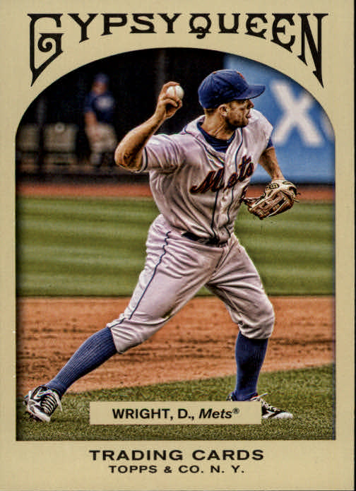 2011 Topps Gypsy Queen #21 David Wright