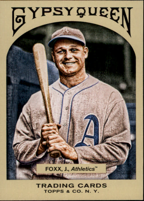 2011 Topps Gypsy Queen #53 Jimmie Foxx