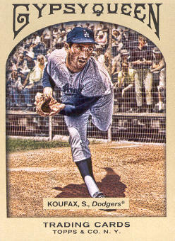 2011 Topps Gypsy Queen #66 Sandy Koufax