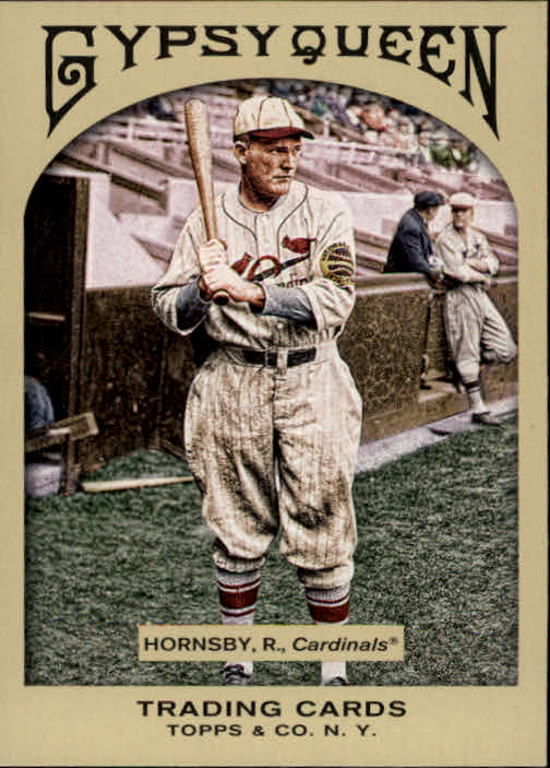 2011 Topps Gypsy Queen #70 Rogers Hornsby