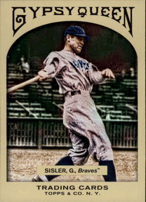 2011 Topps Gypsy Queen #95 George Sisler