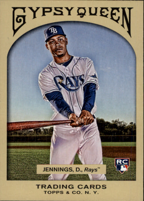 2011 Topps Gypsy Queen #191 Desmond Jennings RC