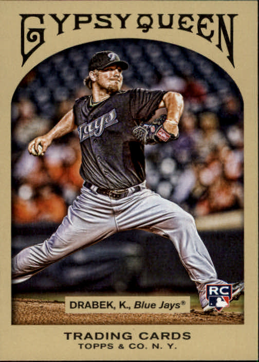 2011 Topps Gypsy Queen #207 Kyle Drabek RC