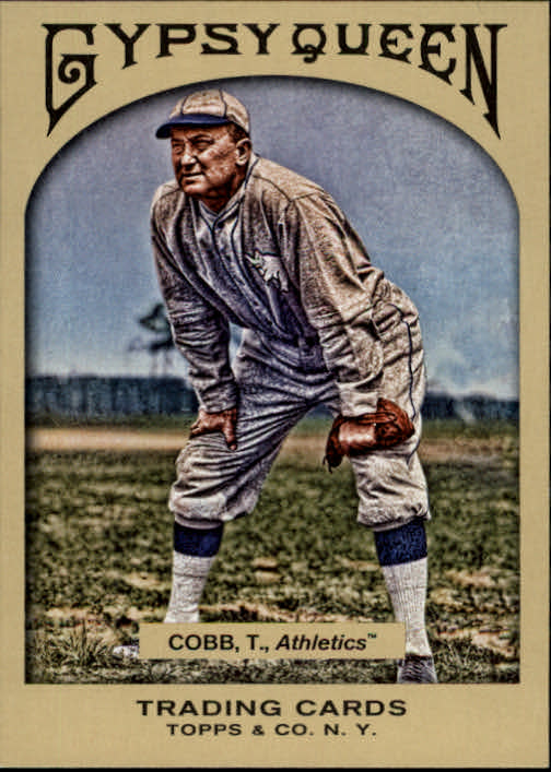 2011 Topps Gypsy Queen #296 Ty Cobb