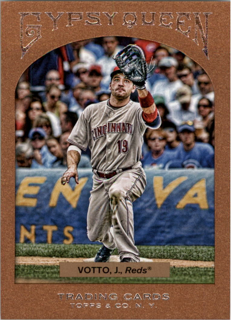 2011 Topps Gypsy Queen Framed Paper #13 Joey Votto