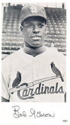 1960 Cardinals Team Issue #5 Bob Gibson