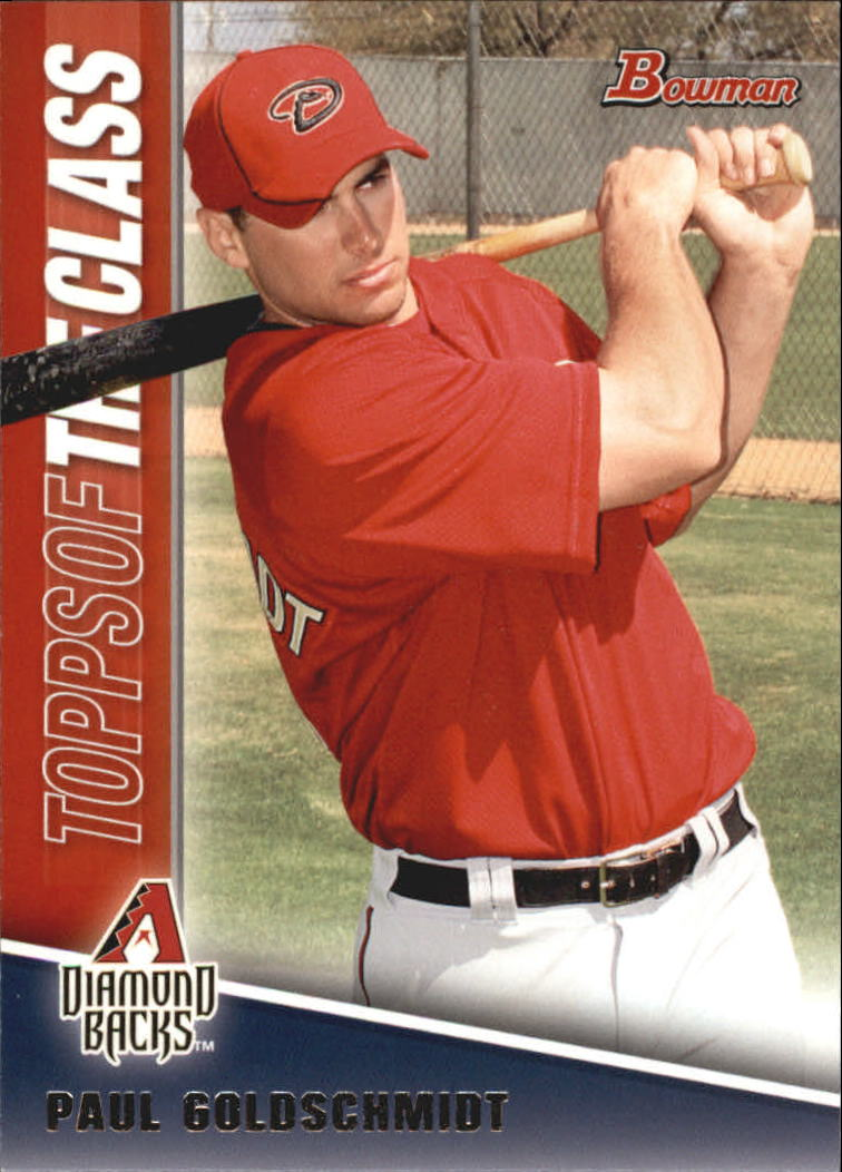 2011 Bowman Topps of the Class #TC5 Paul Goldschmidt