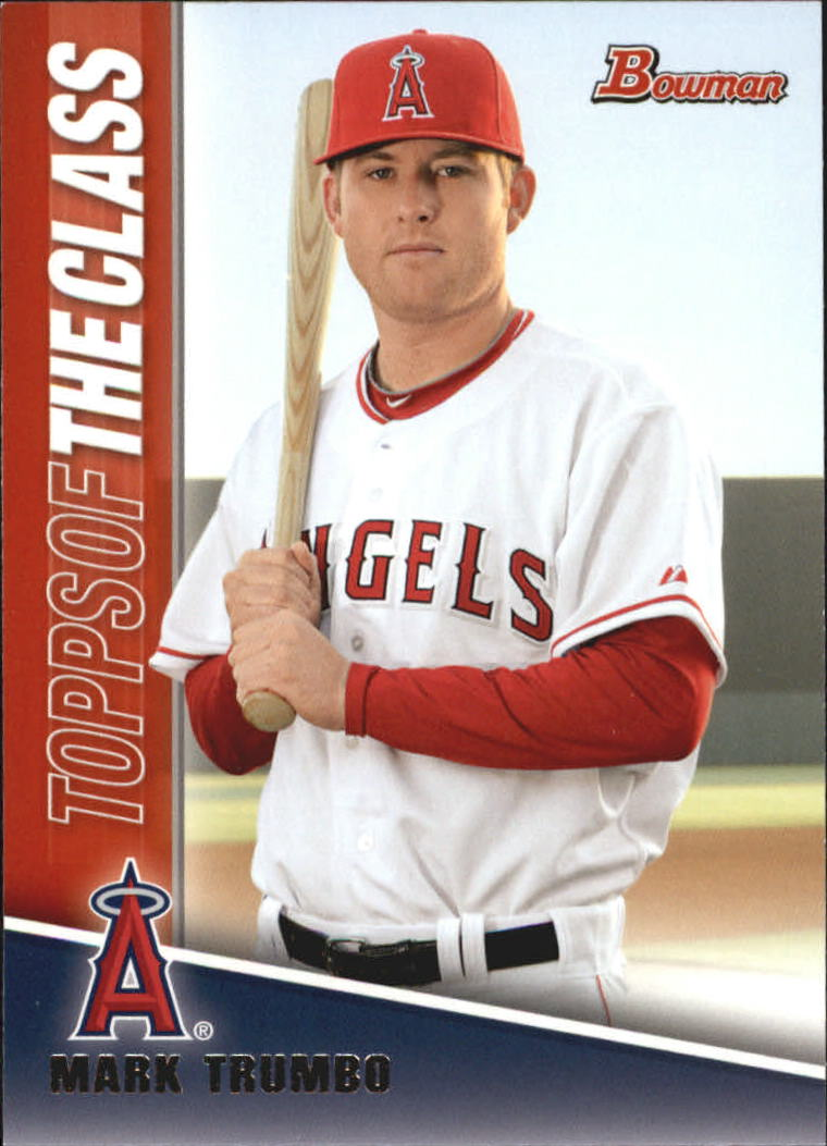 2011 Bowman Topps of the Class #TC10 Mark Trumbo