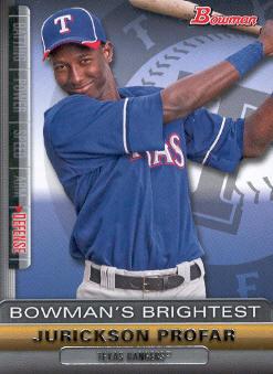 2011 Bowman Bowman's Brightest #BBR23 Jurickson Profar