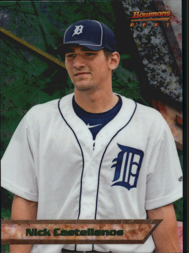 2011 Bowman Bowman's Best Prospects #BBP73 Nick Castellanos