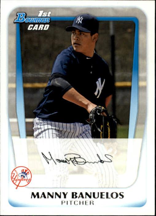 2011 Bowman Prospects #BP44 Manny Banuelos