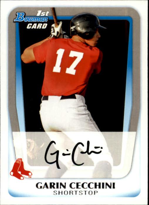 2011 Bowman Prospects #BP107 Garin Cecchini