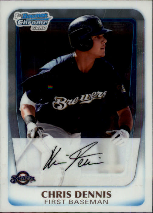 2011 Bowman Chrome Prospects #BCP2 Chris Dennis