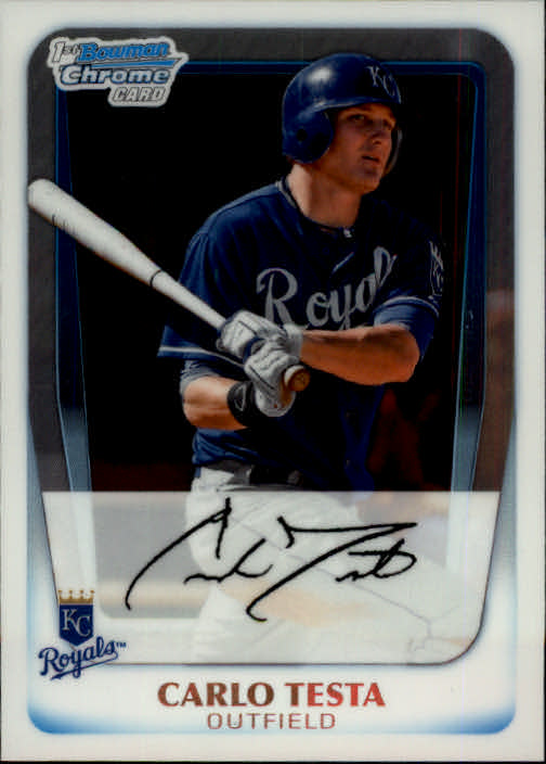2011 Bowman Chrome Prospects #BCP9 Carlo Testa