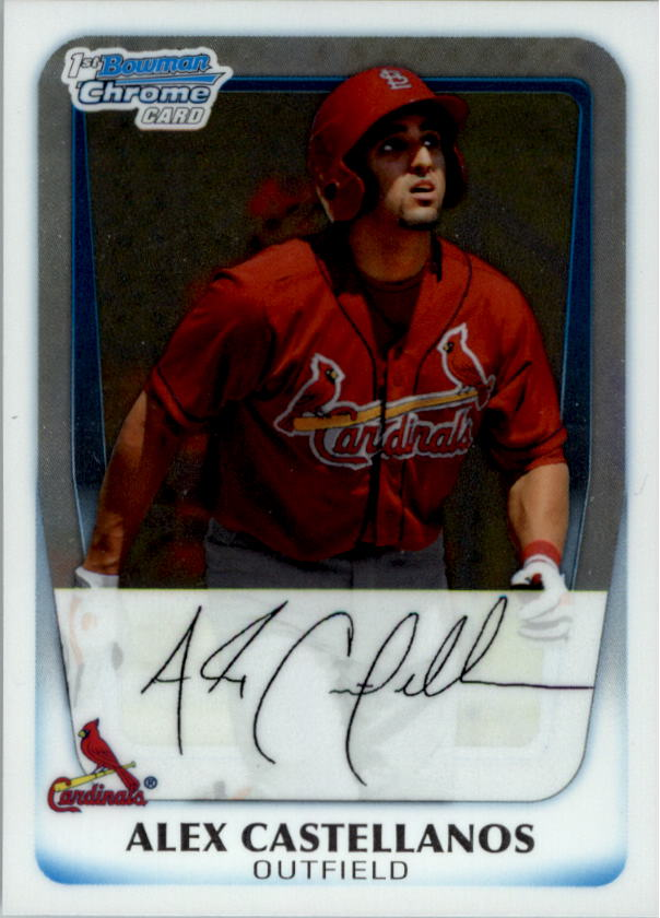 2011 Bowman Chrome Prospects #BCP13 Alex Castellanos