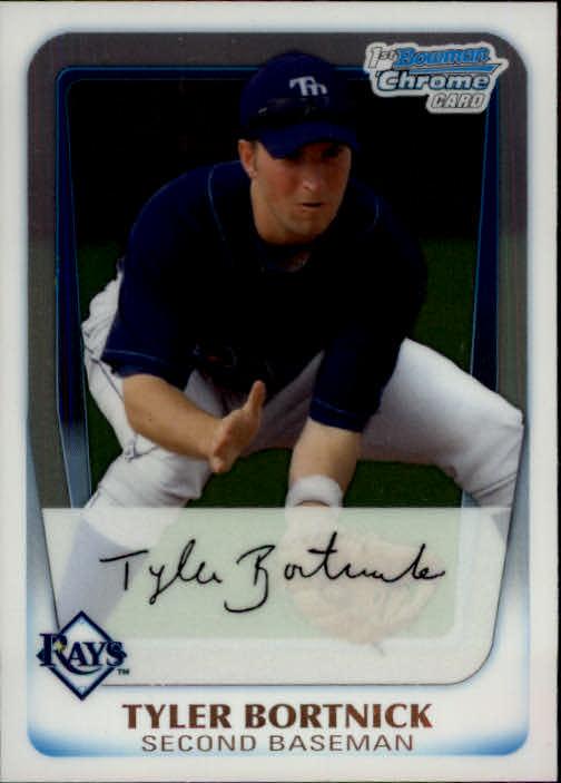 2011 Bowman Chrome Prospects #BCP18 Tyler Bortnick