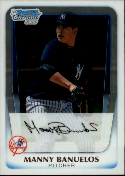 2011 Bowman Chrome Prospects #BCP44 Manny Banuelos
