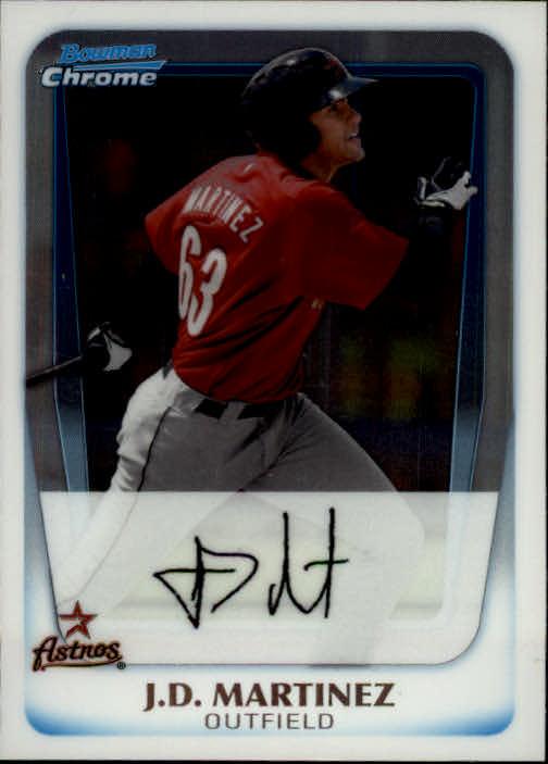 2011 Bowman Chrome Prospects #BCP92 J.D. Martinez
