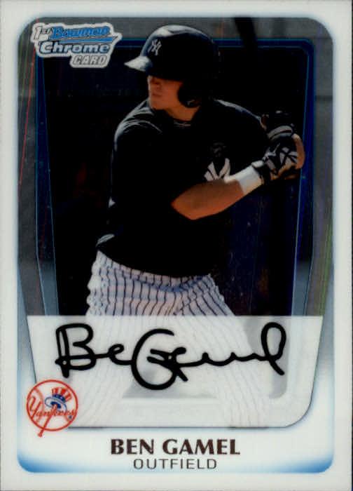 2011 Bowman Chrome Prospects #BCP104 Ben Gamel