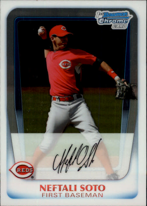 2011 Bowman Chrome Prospects #BCP210 Neftali Soto