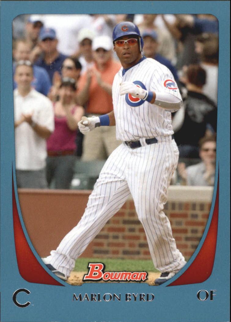 2011 Bowman Blue #9 Marlon Byrd