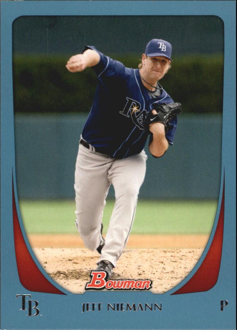 2011 Bowman Blue #16 Jeff Niemann