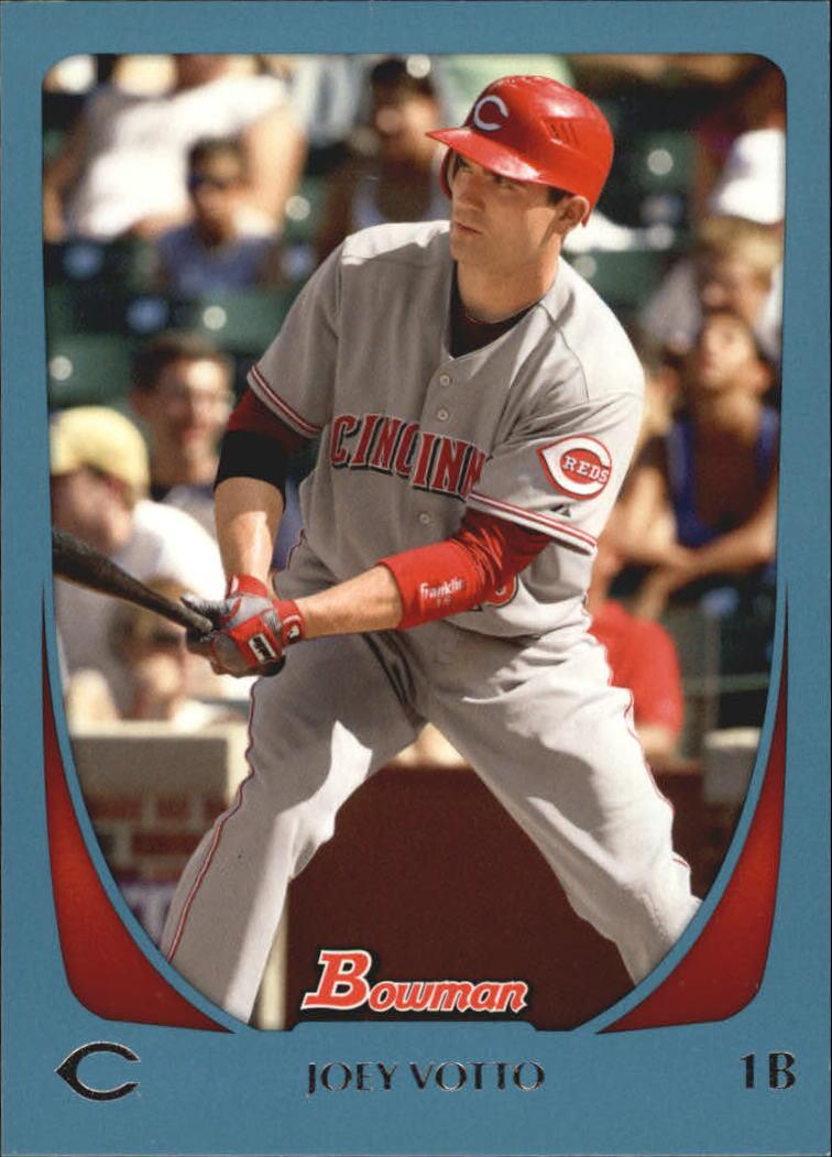2011 Bowman Blue #18 Joey Votto