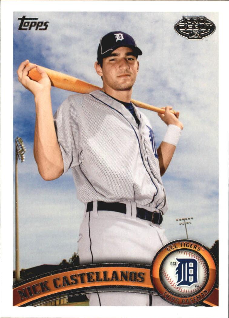 2011 Topps Pro Debut #110 Nick Castellanos