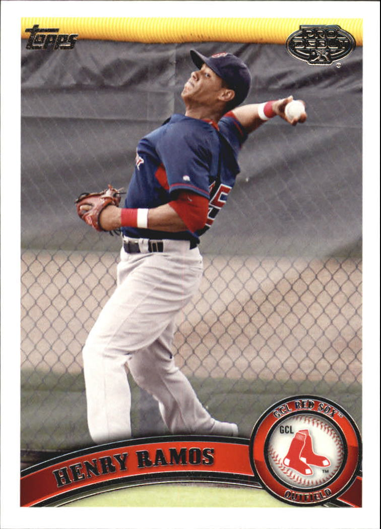 2011 Topps Pro Debut #319 Henry Ramos