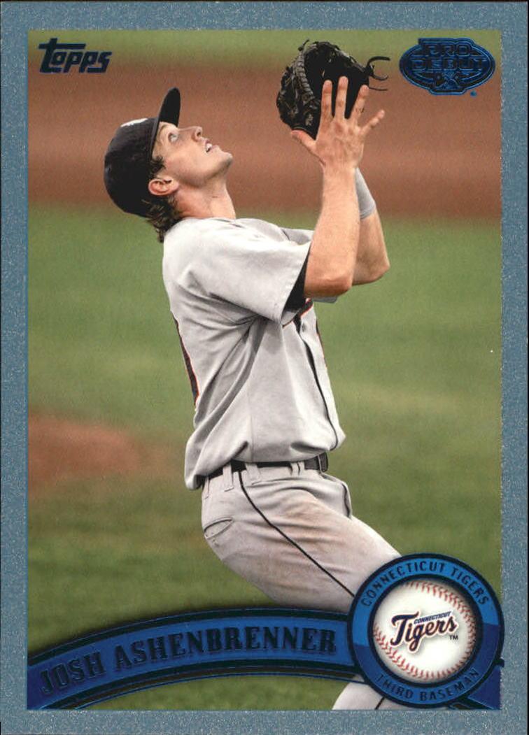 2011 Topps Pro Debut Blue #3 Josh Ashenbrenner