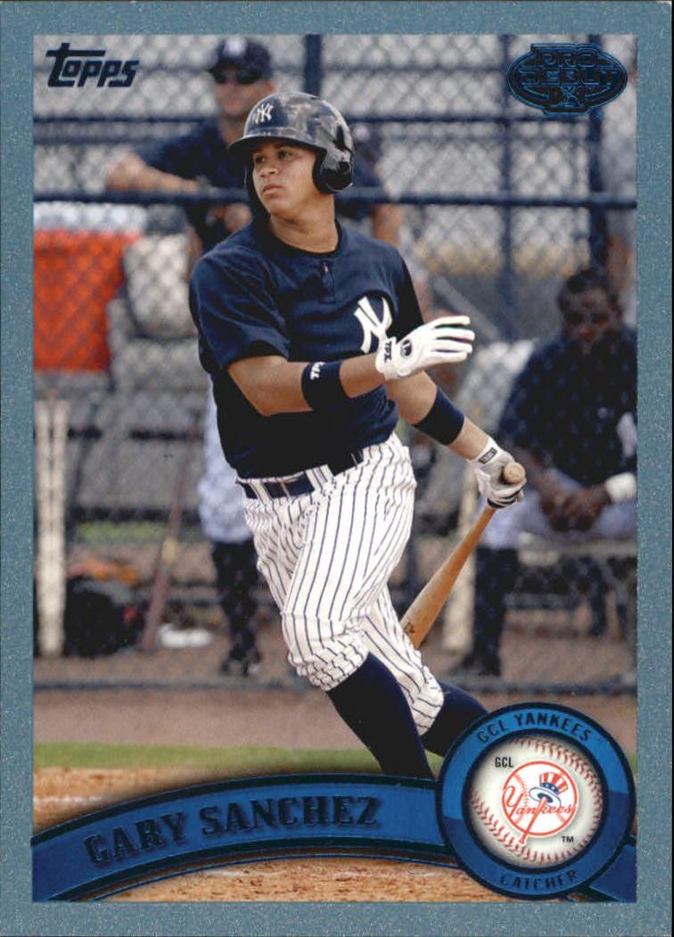 2011 Topps Pro Debut Blue #13 Gary Sanchez