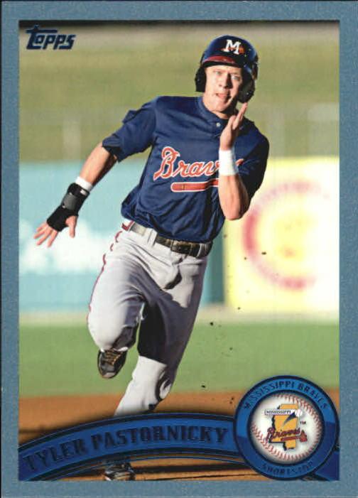 2011 Topps Pro Debut Blue #97 Tyler Pastornicky