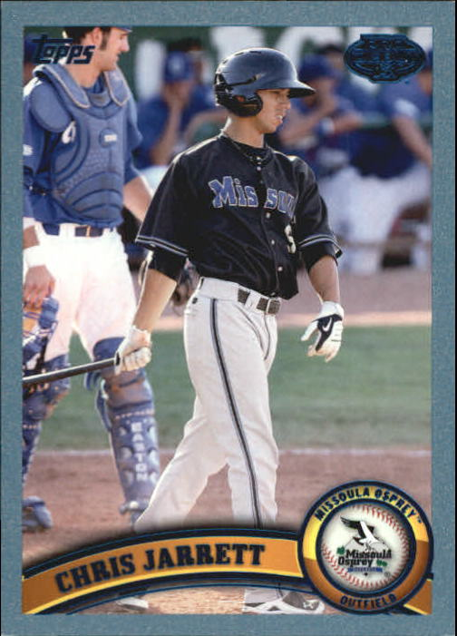 2011 Topps Pro Debut Blue #124 Chris Jarrett