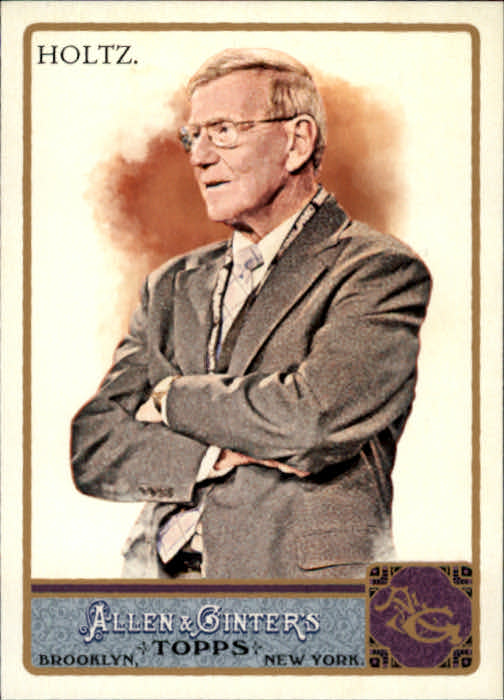 2011 Topps Allen and Ginter #3 Lou Holtz