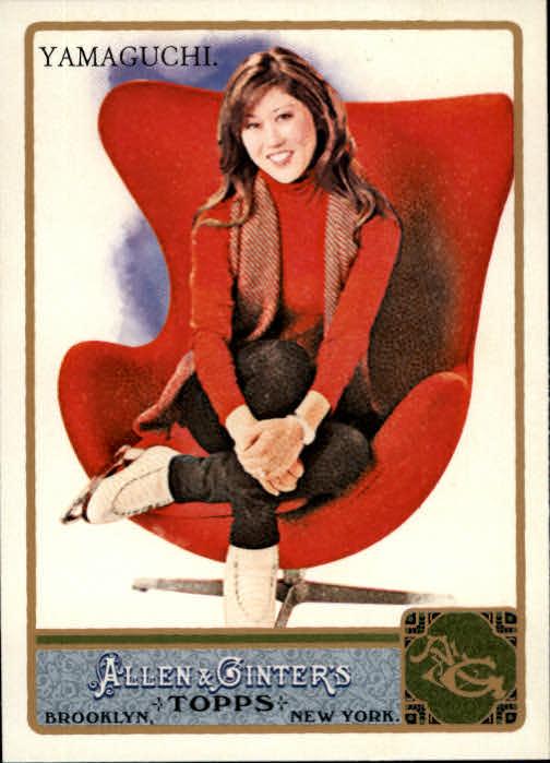 2011 Topps Allen and Ginter #24 Kristi Yamaguchi