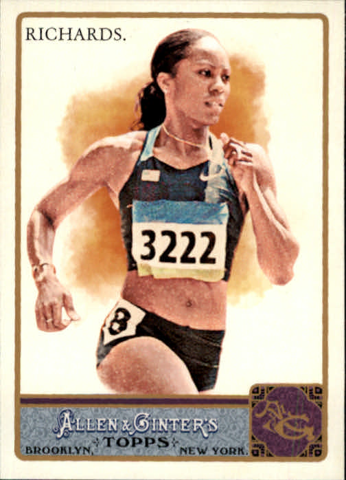 2011 Topps Allen and Ginter #148 Sanya Richards