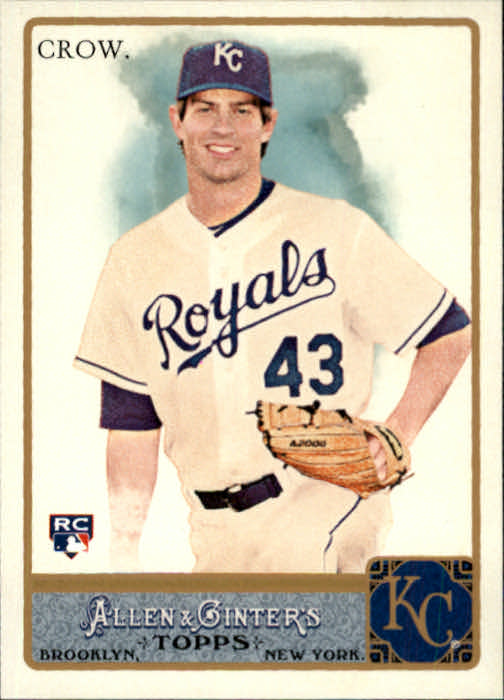 2011 Topps Allen and Ginter #177 Aaron Crow RC
