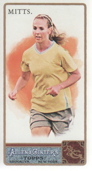 2011 Topps Allen and Ginter Mini #164 Heather Mitts