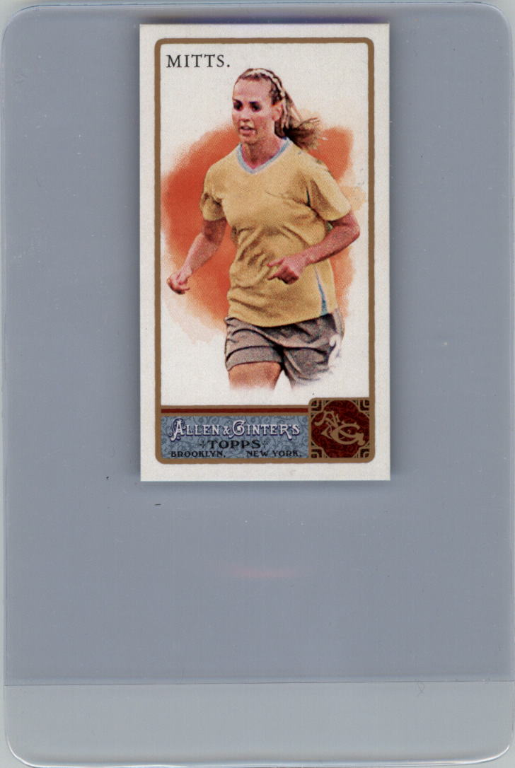 2011 Topps Allen and Ginter Mini A and G Back #164 Heather Mitts