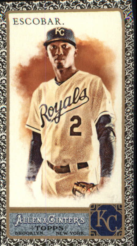 2011 Topps Allen and Ginter Mini Black #58 Alcides Escobar