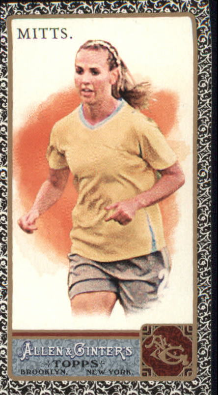 2011 Topps Allen and Ginter Mini Black #164 Heather Mitts